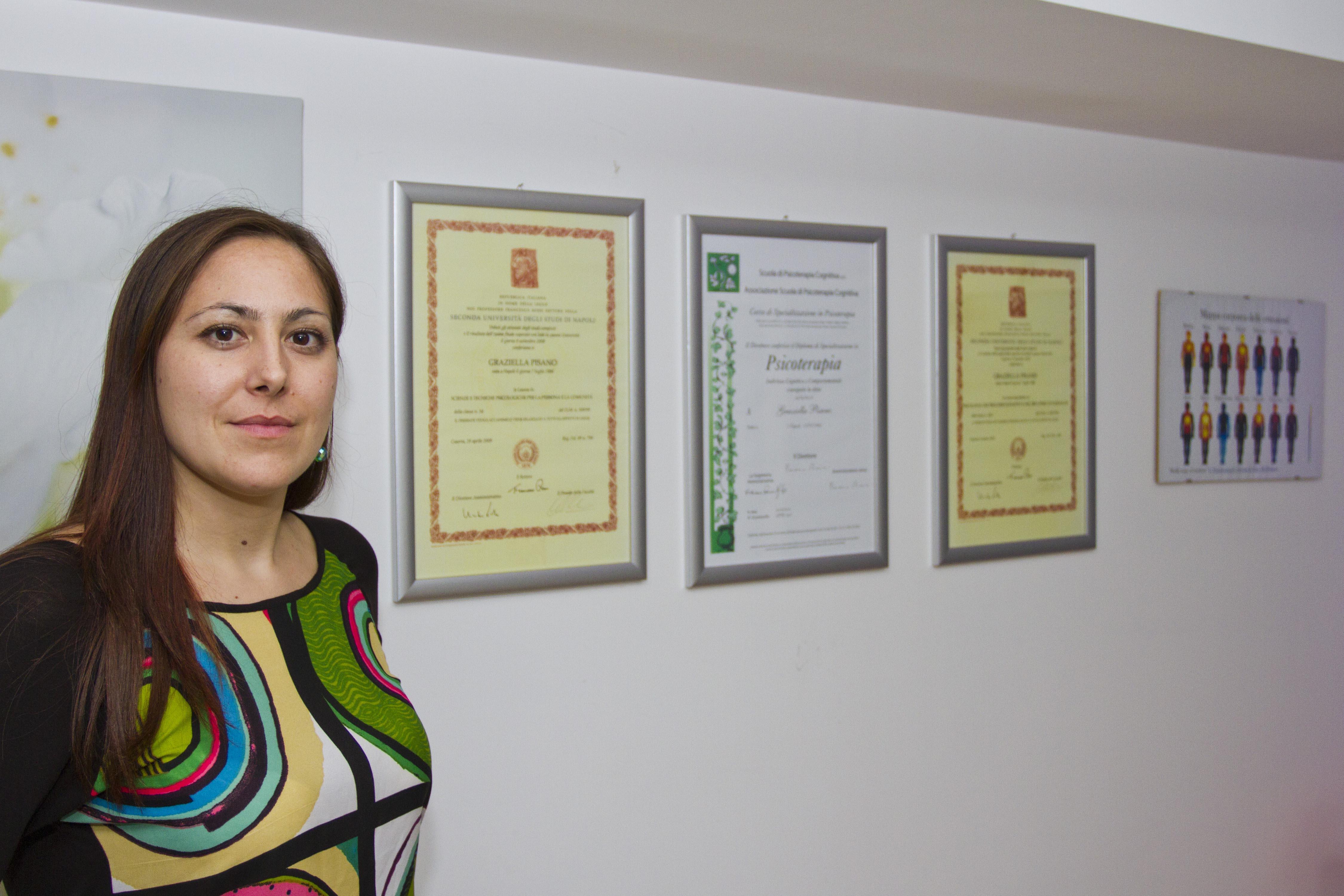 Dott.ssa Graziella Pisano con lauree